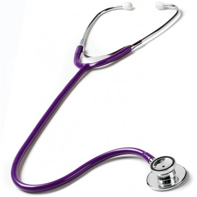OUTLET - Dual Head Stethoscope Purple