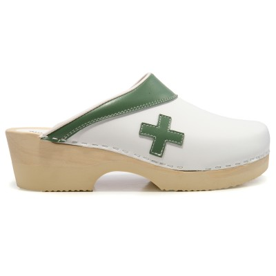 Tjoelup First Aid White Med Green