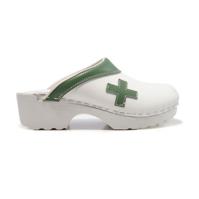 Tjoelup First Aid White Med Green PU