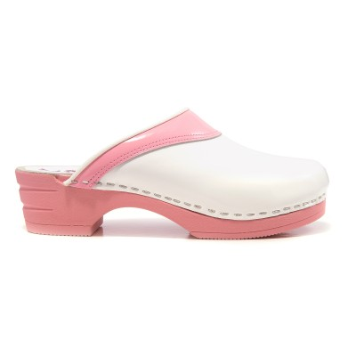 OUTLET size 40 Moofs Pink and White