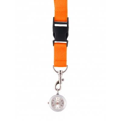 Lanyard/Keycord Horloge Oranje