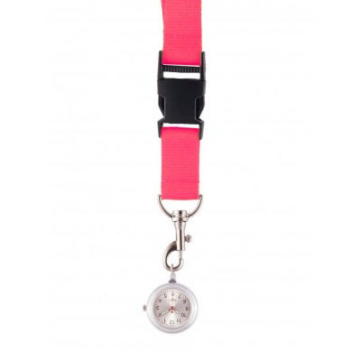 Lanyard/Keycord Horloge Roze
