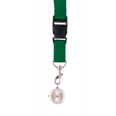 Lanyard/Keycord Horloge Groen