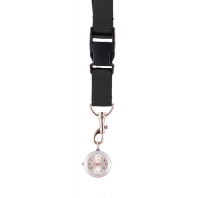 Lanyard/Keycord Horloge Zwart