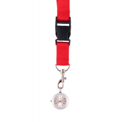 Lanyard/Keycord Horloge Rood