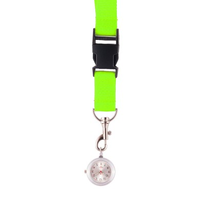Lanyard/Keycord Horloge Lime Groen