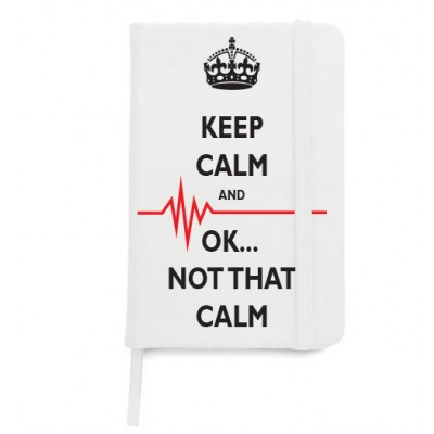 Notitieboek A5 Not That Calm