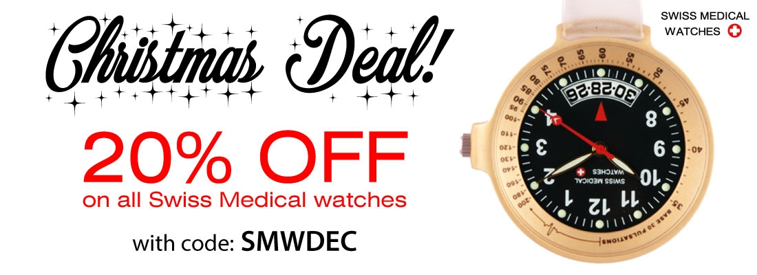 Swiss Medical Watches 20% korting