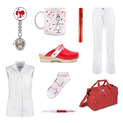 NursesDNA red outfit